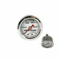 DivisionX Liquid Filled Mechanical Fuel Pressure Gauge (0-100 psi)