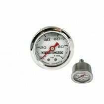 DivisionX Liquid Filled Mechanical Fuel Pressure Gauge (0-100 psi)