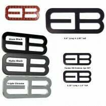 UPR Products EB Side Emblem for 15-18 Mustang Ecoboost
