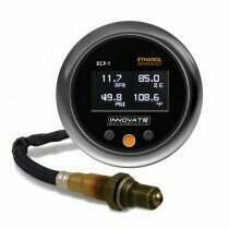Innovate Motorsports ECF-1: (FUEL) Ethanol Content & Air/Fuel Ratio Gauge (Complete Kit)