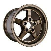 "Race Star Drag Wheel 15"" x 10"" - Bracket Matte Bronze Finish (2005-2014 Mustang, Excludes 2013-2014 GT500) - 92-510154MBZ"