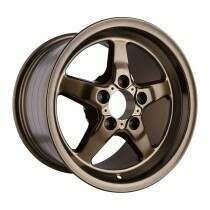 """Race Star Drag Wheel 17"""" x 9.5"""" - Matte Bronze Finish (2005-2014 Mustangs Including GT500's; 2015+ GT w/Standard Brake Package) - 92-795153MBZ"""