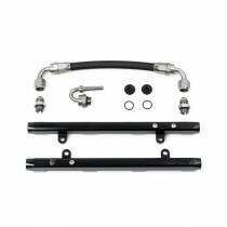 Deatschwerks 7-301-OE 5.0L Coyote Fuel Rails with Crossover (Ford Mustang V8 2011-17 / Ford F-150 V8 2011-17)