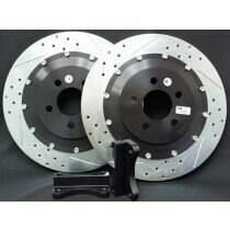 Baer 2302021 97-04 C5 / 05-13 C6 Base Model Rear EradiSpeed+1 Rotor Upgrade