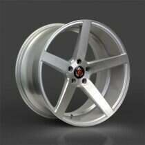 Lenso 05-2014 Mustang 22x10.5 Axe EX18 Wheel (Silver / Brushed Face)