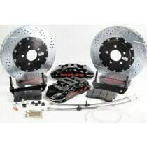 "Baer 09-2014 F-150 15"" Front Extreme+ Brake System (Black Calipers)"