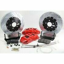 """Baer 2010-2014 6.2L Camaro SS 15"""" Rear Extreme+ Brake System (Red Calipers)"""