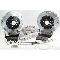 """Baer 2010-2014 6.2L Camaro SS 15"""" Rear Extreme+ Brake System (Silver Calipers)"""