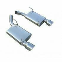 Pypes 05-2010Mustang T-304 Stainless Violator Axleback Exhaust