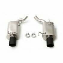 LTH FDAB00001B 2005-2010 Mustang GT Axleback Exhaust System with Black Tips