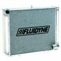 Fluidyne 79-93 Mustang 3 Core Aluminum Radiator (Manual Transmission)