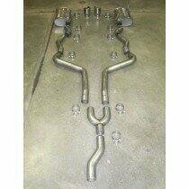 Stainless Works 05-2010 Mustang V6 Chambered Cat-Back System (Bolts to Stock Y pipe)