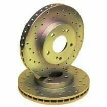 Stillen Cross Drilled Sport Rotors (Rear-Pair)