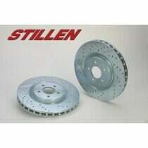Stillen Mustang Drilled and Slotted Sport Rotors (Rear-Pair)