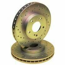 Stillen Drilled/Slotted Sport Rotors (Rear-Pair)