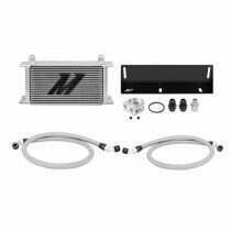 Mishimoto 79-93 Mustang 5.0L Direct Fit Oil Cooler Kit (Silver)