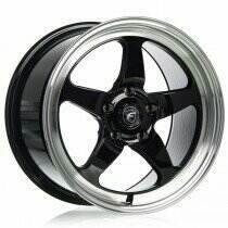 "Forgestar 17X10"" D5 Flow Formed Drag Wheel Non-Beadlock"