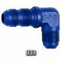 Fragola -10an 90 Degree Bulkhead Fitting