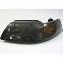 99-04 Mustang Dark Smoked Headlight Set w/ Xenon Bulbs (2 Piece Set)
