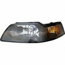 99-04 Mustang Light Smoked Headlight Set w/ Xenon Bulbs (2 Piece Set)