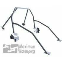 Maximum Motorsports Street Strip 6-point Mustang Roll Bar, E-Z-Remove Door Bars, No Harness Mount (2005-2014 Mustang Hardtop) - Mm5RB-24.6