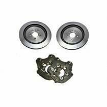 "Lethal Performance 2013-2014 Shelby GT500 Rear Brake Conversion Kit (For use with 15"" Drag Wheels)"