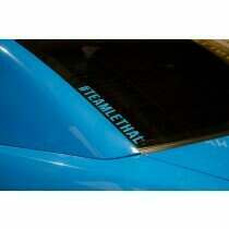 "Lethal Performance 1.5"" x 12"" #TEAMLETHAL Vinyl Decal"