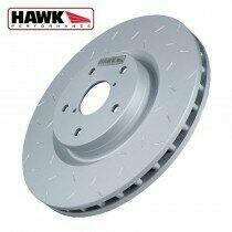 Hawk 94-04 Mustang GT Quiet Slot Rotor (Rear Single Rotor)