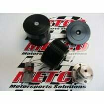"Metco HCP2.75 Overdrive Supercharger Pulley 2.75""                                                                                                       3-Piece Design, +4-5 lbs Boost"
