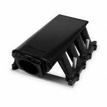 Holley 5.0L Coyote Sniper Hi-Ram Sheet Metal Fabricated Intake Manifold (Black)