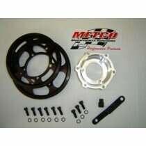 Metco Motorsports 99-04 Lightning/Harley Davidson Interchangeable Crankshaft Pulley Kit (2 Pulleys)