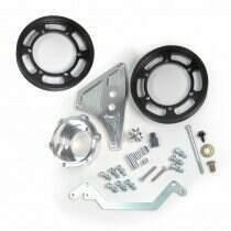 Metco Motorsports 03-04 Cobra Interchangeable Crank Pulley Kit (2 Pulleys)