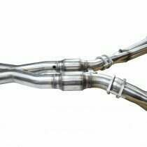 """Kooks 3"""" SS GREEN Catted X-Pipe. 2009-2013 Corvette 6.2L. Connects to OEM. - 21603311"""