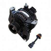 J2 Fabrication Denso Hairpin High-Output Alternator for 99-04 Mustang GT