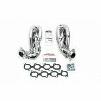 JBA 07-2014 Shelby GT500 Cat4ward Shorty Headers (Silver Ceramic)