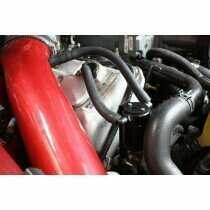 JLT 3018P-B 1999-2004 Mustang 4V Passenger Side 3.0 Oil Separator (Black Anodized)