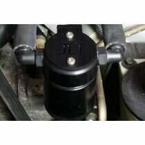 JLT 3018D-B 1999-2004 Mustang 4V Drivers Side 3.0 Oil Separator (Black Anodized)