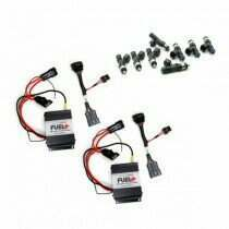 2007-2010 Shelby GT500 Dual 40amp Plug and Play Fuel+ Pump Voltage Boosters and DW 95lb Fuel Injectors