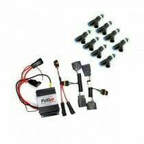 2011-2012 Shelby GT500 40amp Plug and Play Fuel+ Pump Voltage Booster and Ford Performance 52lb Fuel Injectors