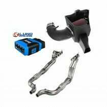 Lethal Performance Stage 2 Power Pack - Intake, Headers, and HPT RTD Tuner & Lund Tune (2020-2021 Shelby GT500)
