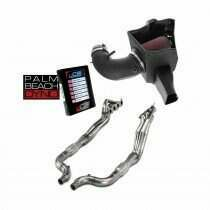 Lethal Performance Stage 2 Power Pack - Intake, Headers, and Palm Beach Dyno uCal with Tune (2020-2021 Shelby GT500)