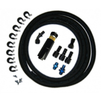 Lethal Performance 99-04 Mustang DivisionX Fuel Hat to Stock Fuel Rails Fuel Line Upgrade Kit