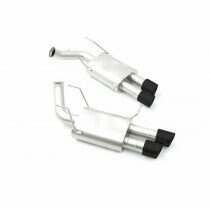 LTH FDCB00005B True Dual Cat Back Exhaust System with Black Tips (2011-2014 Mustang GT / 2012-2013 Boss / 2013-2014 Shelby GT500)