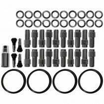 "Race Star Industries 1/2"" x 20 Closed End Lug Nut Kit for Direct Drilled Wheels (Full Kit / 20pcs)"