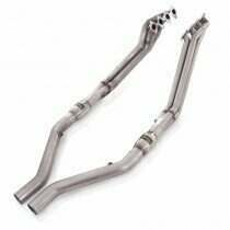 "Stainless Works 05-2010 Mustang GT 1-3/4"" Long Tube Headers w/ Catted Connection Pipes (For SW cat-back)"