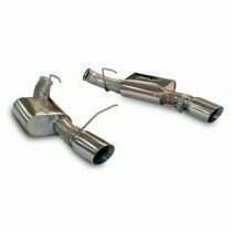 SLP 2011-2014 Mustang GT / Boss / GT500 Powerflo Axleback Exhaust System (Excludes 2013-2014 GT500)