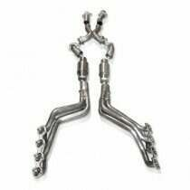 """Stainless Works 96-04 Mustang GT 1-5/8"""" Headers w/ Catted X-Pipe"""