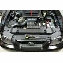 JLT JLTRSC-FM9904-2 99-04 Mustang Radiator Support Cover Textured Black