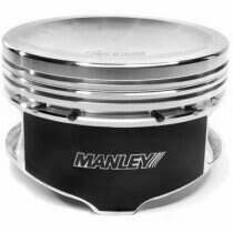 "Manley 594030C-8 4.6L / 5.4L Platinum Series Flat Top Pistons-0.030"" Over"