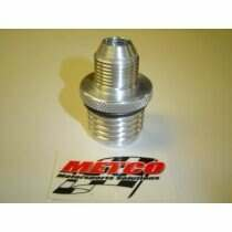Metco Motorsports Screw In Valve Cover Breather with -10an Threads